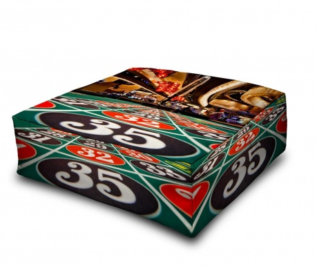 Floor cushion Casino 35 60x60 cm