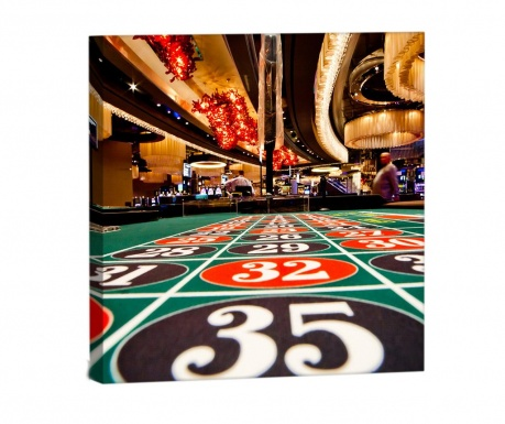 Obraz Casino Palace 33x33 cm
