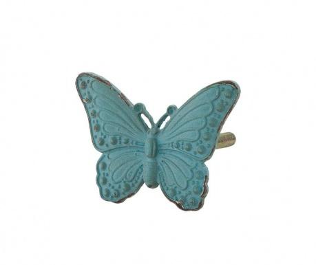 Knoflík na zásuvku Blue Butterfly