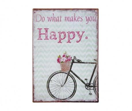 Nástěnná dekorace Happy