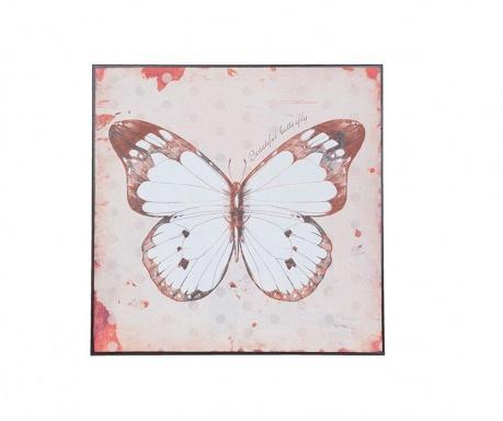 Obraz Pink Butterfly 30x30 cm