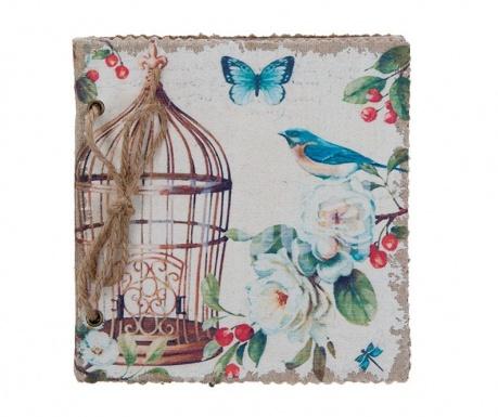 Kalendarz książkowy Bird Cage Blue
