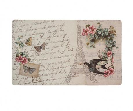 Vchodová rohožka Paris Flowers 44x74 cm