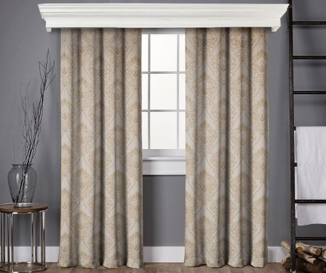 Set of 2 drapes Anisa Beige 145x260 cm
