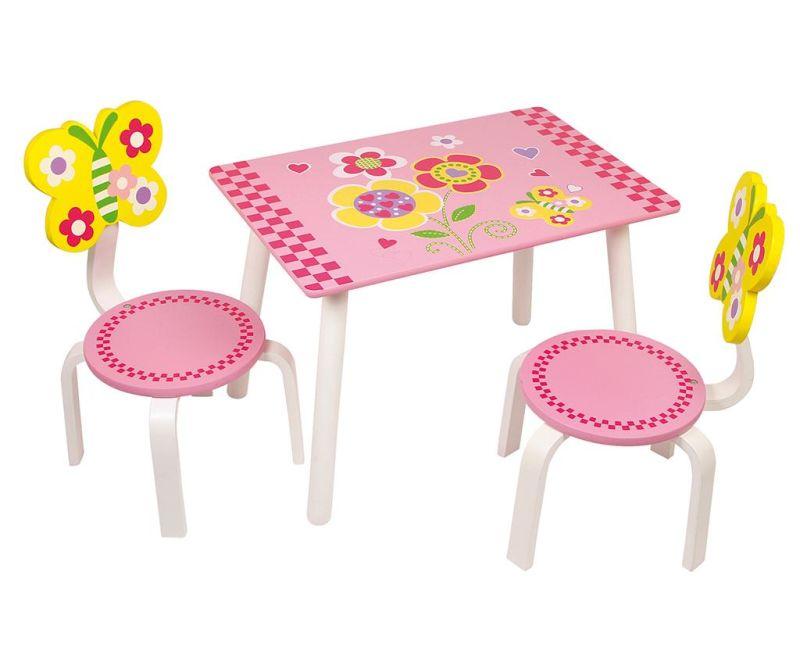 Leonor Asztal és 2 szék gyerekeknek