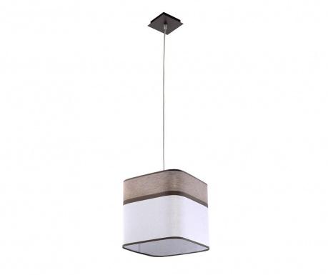 Závesná lampa Costa Brown White
