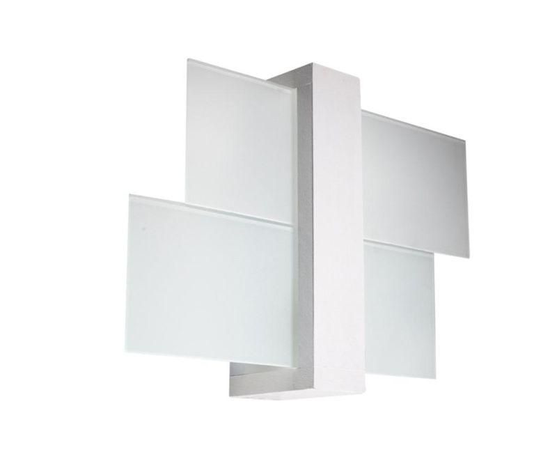 Aplica de perete Leda Duo White