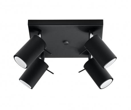Závesná lampa Etna Four Black