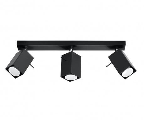 Stropná lampa Toscana Three Black