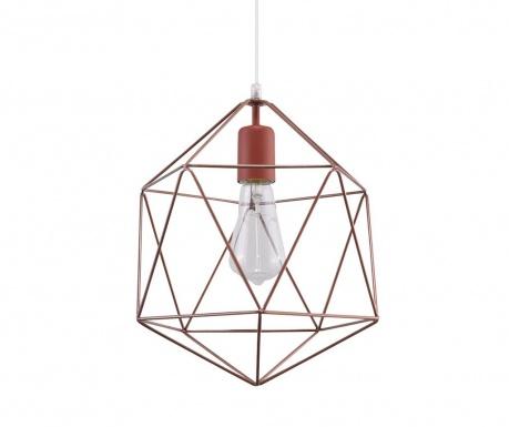 Závesná lampa Donato Copper