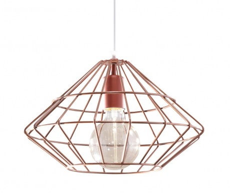 Závesná lampa Editta Copper