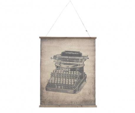 Стенна декорация Retro Typewriter