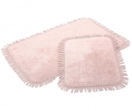 Σετ 2 χαλάκια μπάνιου Axis Pink