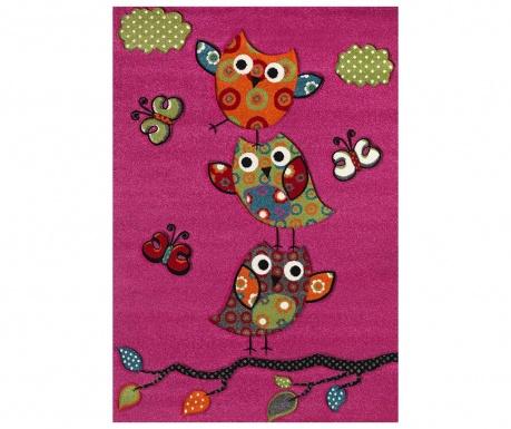 Covor Diamond Kids Owl Pink