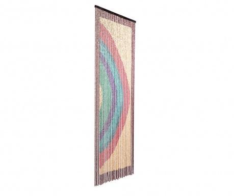 Záclona na dvěře Rainbow 90x200 cm