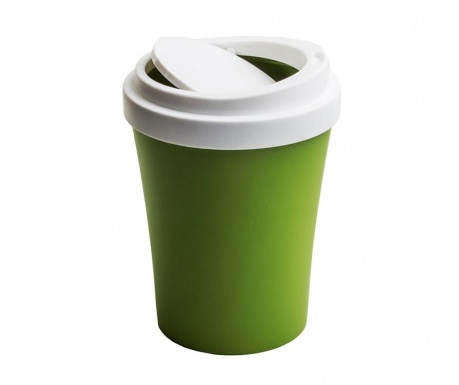 Cos de gunoi cu capac Coffee Green 7.9 L