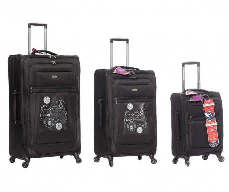 fc937a3f8503a Sada 3 cestovných kufrov na kolieskach Canterbury - Vivrehome.sk