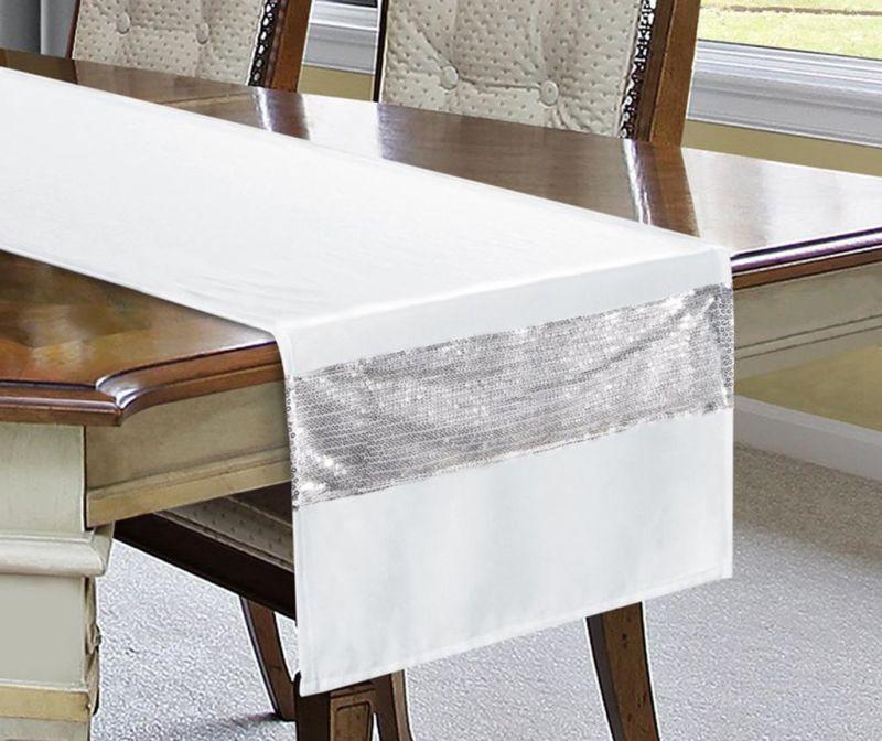 Nadstolnjak Ariadna White 40x140 cm