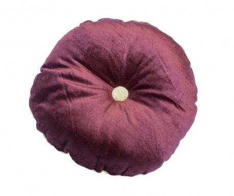 Poduszka dekoracyjna Mignon Velvet Round Cherry Gold 30 cm