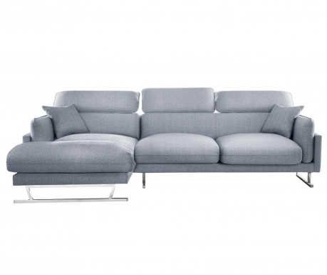Ляв ъглов диван Giselle Grey