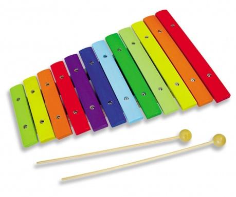 Ksylofon  zabawkowy Rainbow