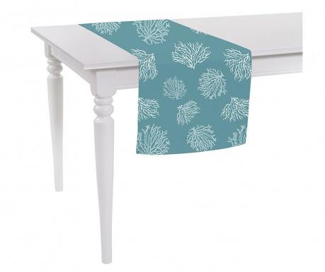 Bieżnik stołowy Corals Blue 40x140 cm