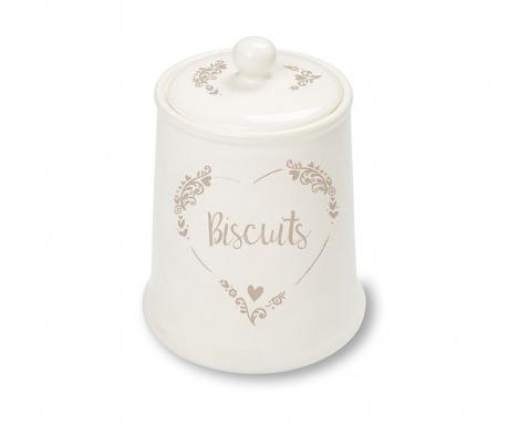 Recipient cu capac pentru biscuiti Food for Thought