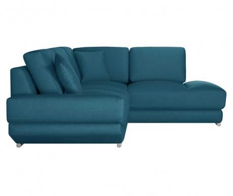 Десен ъглов диван Kaya Turquoise