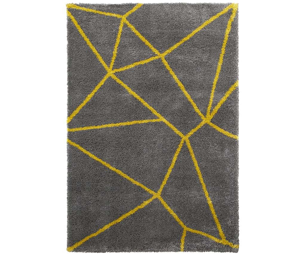Covor Nomadic Grey Yellow 120x170 cm - Think Rugs, Gri & Argintiu