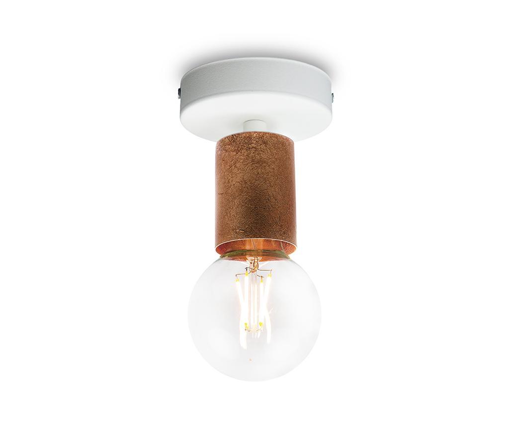 Plafoniera Cero Basic Copper - Bulb Attack, Galben & Auriu