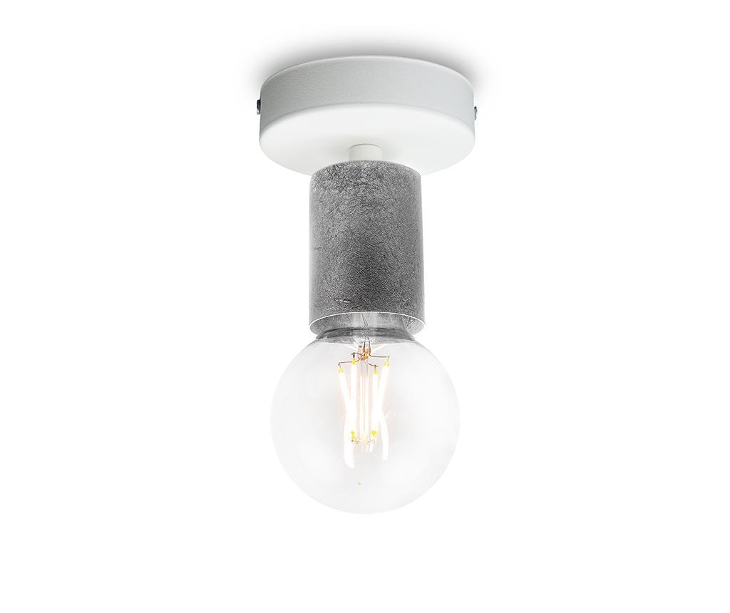 Plafoniera Cero Basic Silver - Bulb Attack, Gri & Argintiu