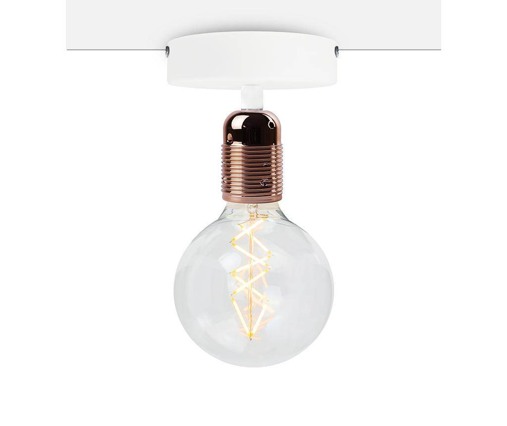 Plafoniera Uno Basic Copper White - Bulb Attack, Galben & Auriu