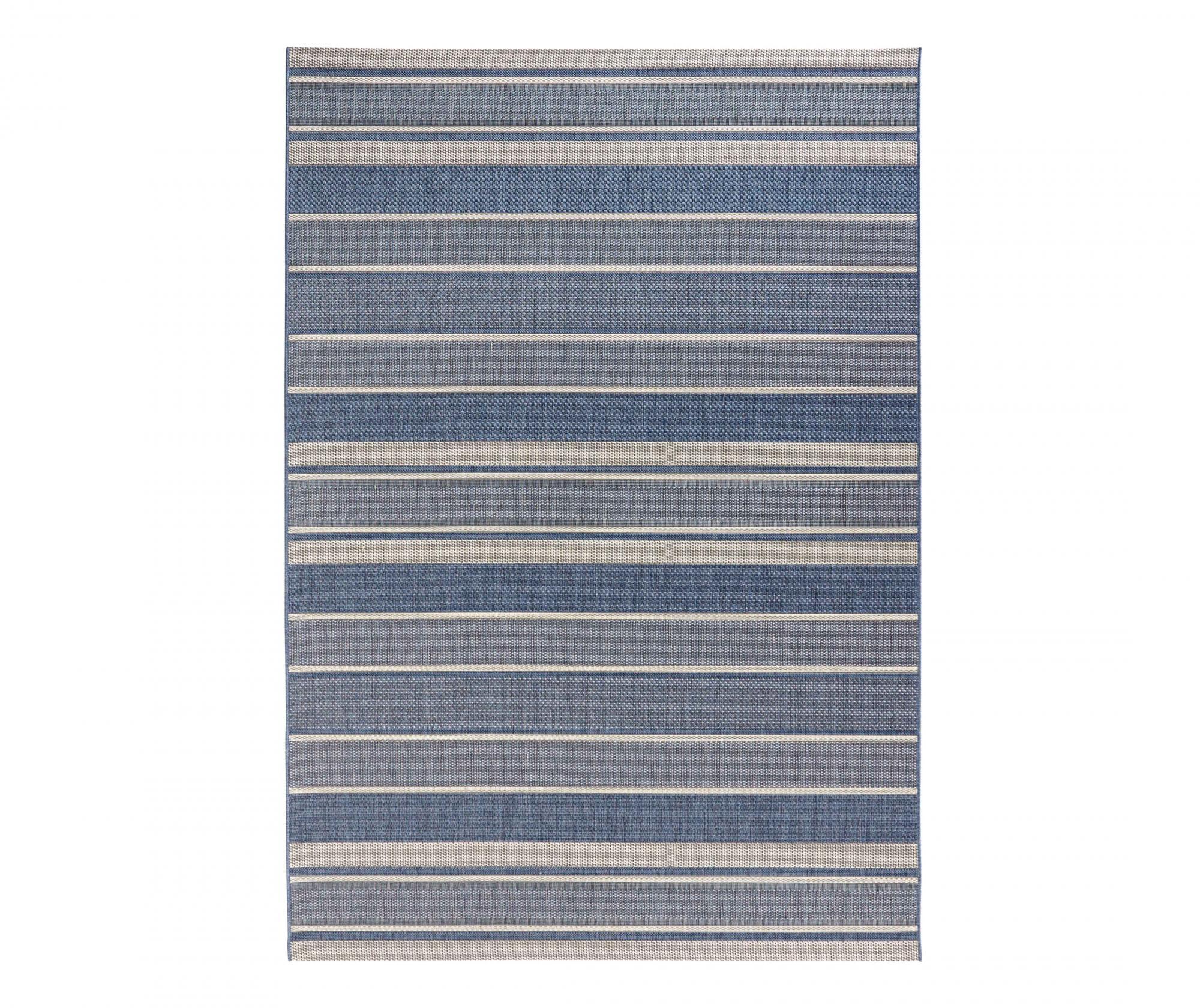 Covor de exterior Meadow Strap Blue 160×230 cm