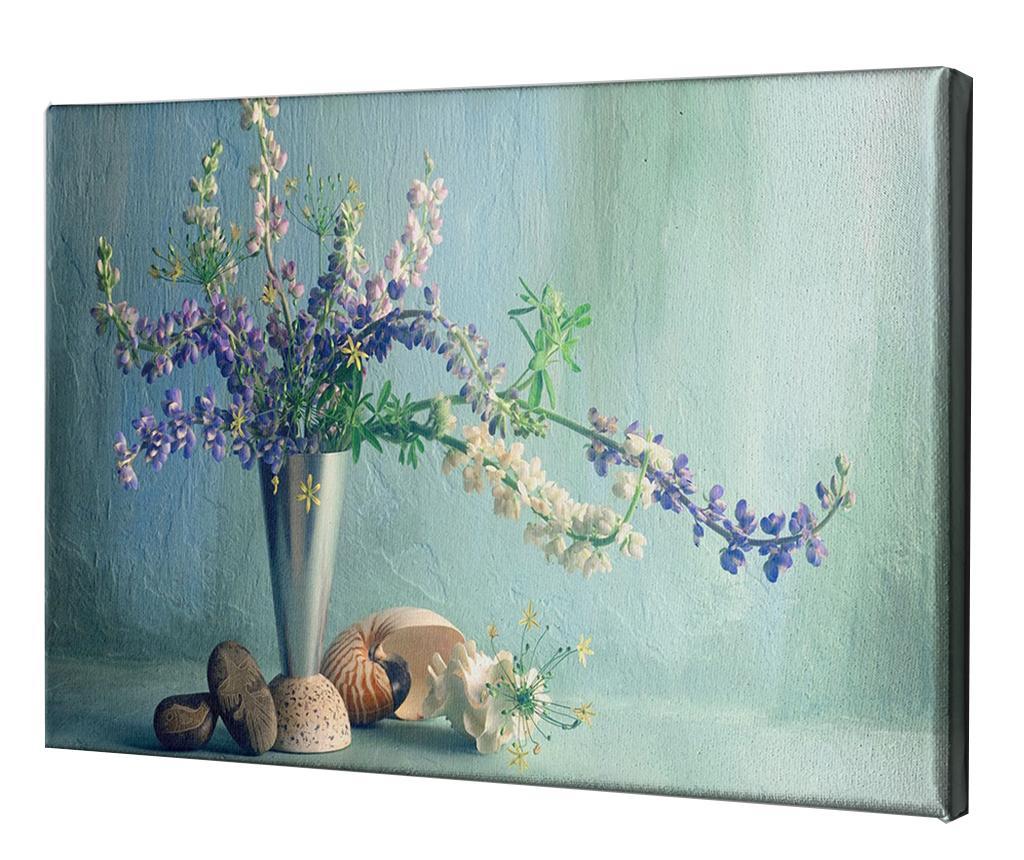 Tablou Marine 60x90 cm - CASBERG, Albastru,Multicolor