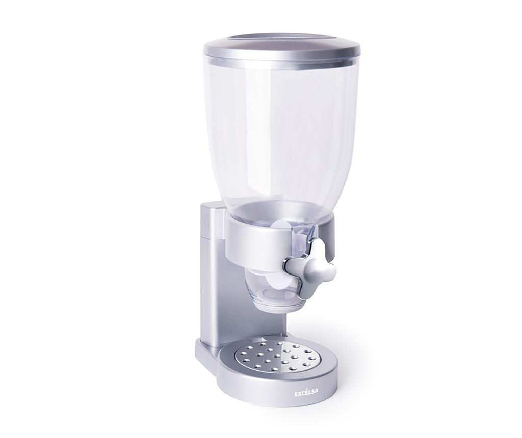 Recipient pentru cereale Jaxon - Excelsa, Gri & Argintiu