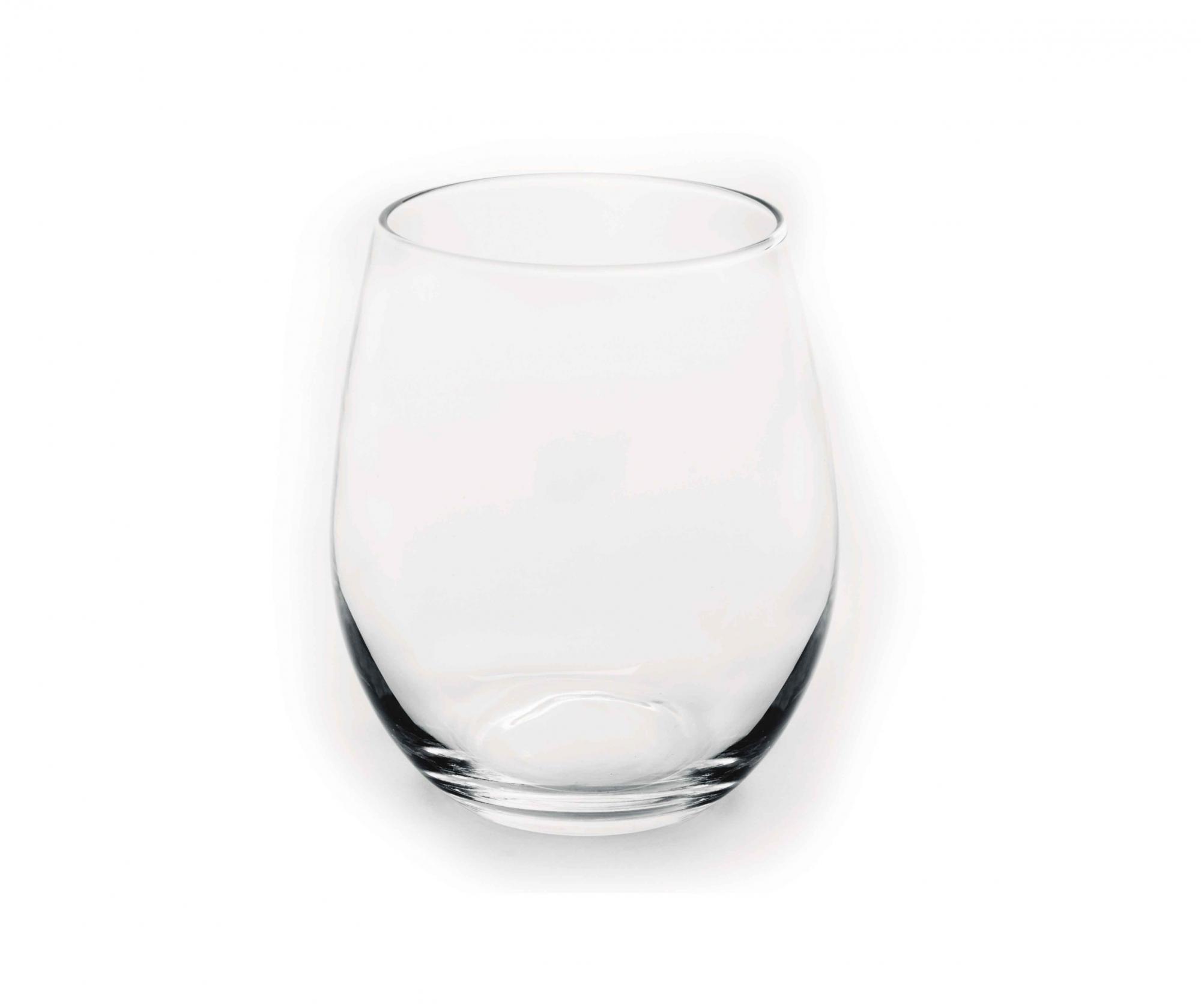 Set 6 pahare pentru apa Dovan 390 ml - Excelsa, Alb
