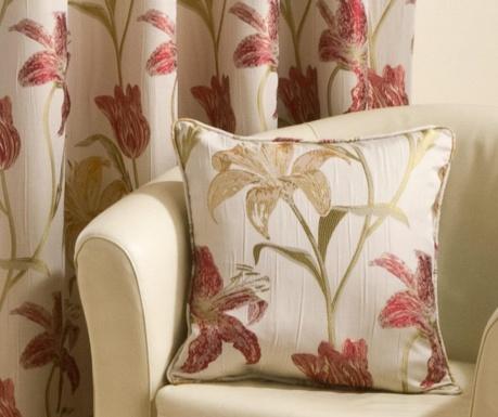 Jastučnica Lily Red 43x43 cm
