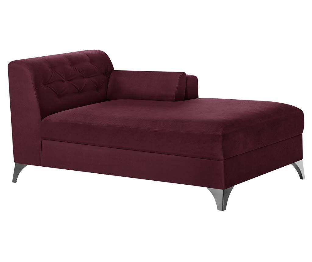 Lehátko do obýváku pravostranné Vanity Crimson