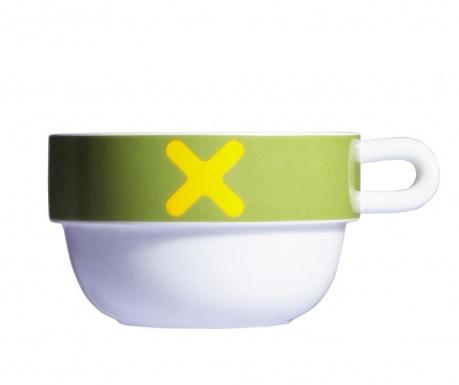 Zajtrkovalna skodelica Mayday Jumbo Green 490 ml