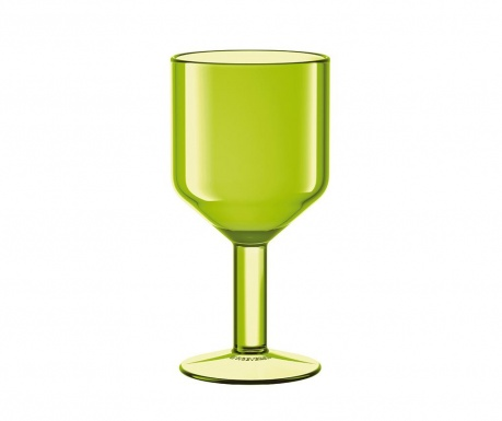Kozarec za vino The Good Times Green 240 ml