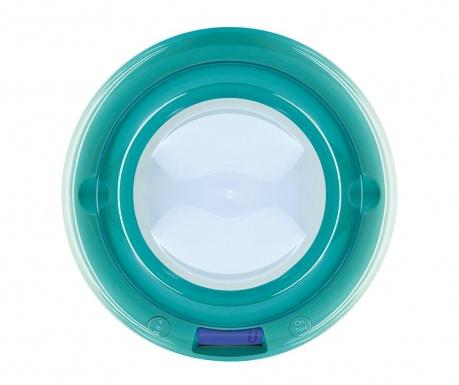 Cyfrowa waga kuchenna Bubble Turquoise
