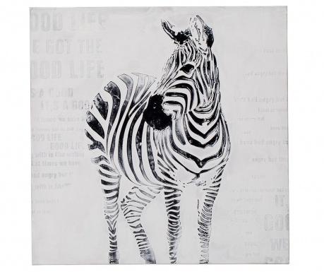 Tablou Zebra 80x80 cm