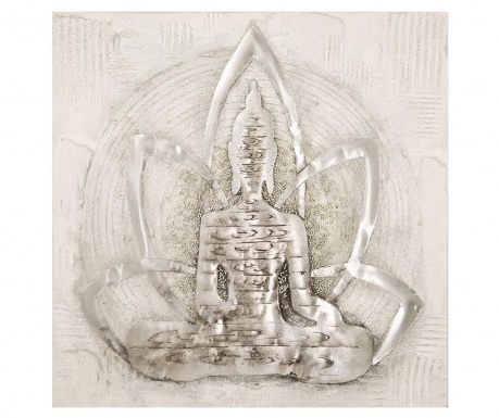 Картина Happy Buddha 80x80 см
