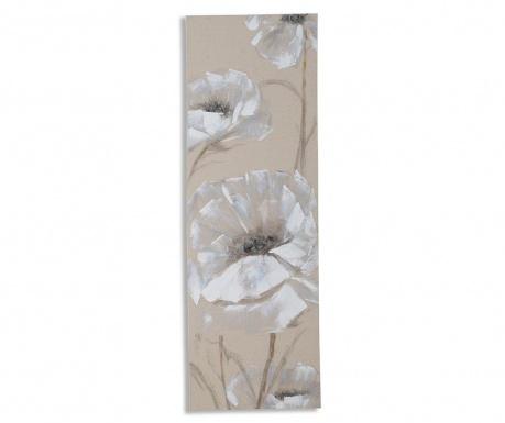 Tablou Soft Flowers 40x120 cm
