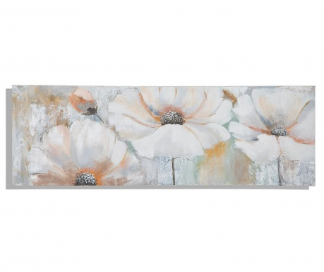 Tablou Miss Bouquet 50x150 cm