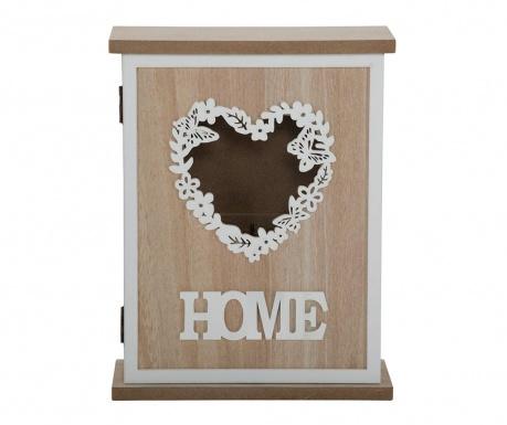 Шкафче за ключове Love