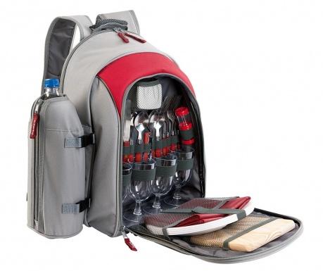 Plecak piknikowy z wyposażeniem dla 4 osób Travel