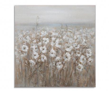 Tablou Flowery Field 80x80 cm