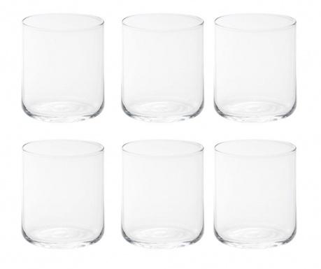 Сервиз 6 чаши за вода Bloom Clear 250 мл