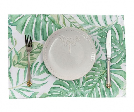 Set 2 individualuri White Tropical 33x45 cm